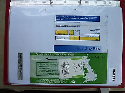 M2873 Jersey. 1 Jersey European Airline Ticket/s Exeter to Guernsey