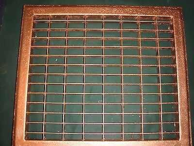 Antique Heating Floor Grates----16 By 14