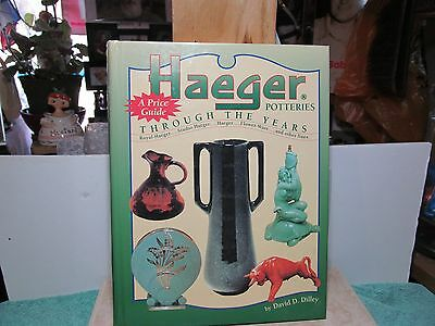 """1997 copy of """"Haeger Potteries Through the Years A Price Guide"""" by Dilley."""