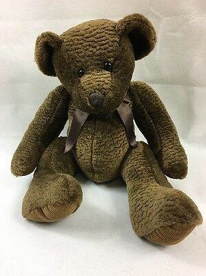 """RUSS BEARS FROM THE PAST BIXBY COLLECTIBLE BEAR SOFT TOY PLUSH TEDDY 16"""" 40 cm"""