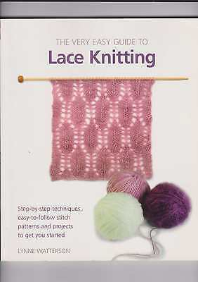 The Very Easy Lace Knitting  Book Lynne Watterson