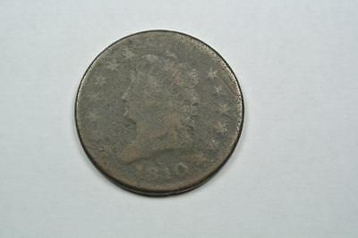1810 Classic Head Large One Cent, Good Condition - C2088