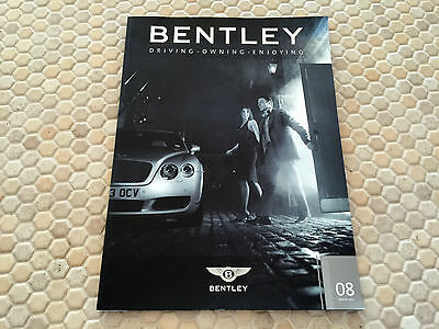 Bentley Official Factory Issued Magazine Issue #8 Winter 2003 Usa Edition