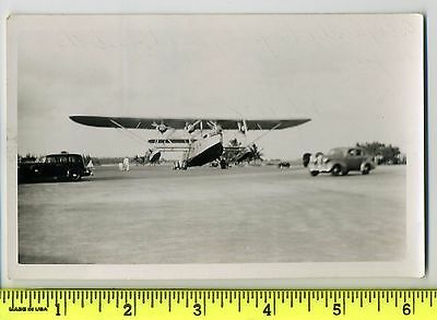 """Pan American Airlines Sikorsky S-40 """"American"""" Clipper July 1938"""