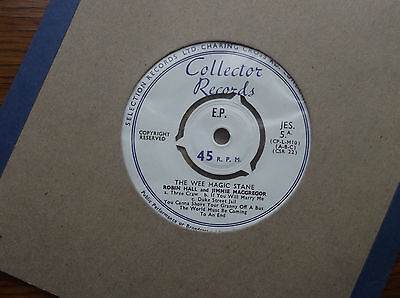 Robin Hall And Jimmie MacGregor ‎– The Wee Magic Stane Glasgow Street Songs 7""