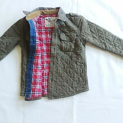 Marks & Spencer boys cotton padded quilted jacket coat (age 2-3 years) M&S
