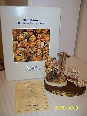 "Hummel Freedom Edition Of ""crossroads"" Limited Edition * With Box/packing & Coa"