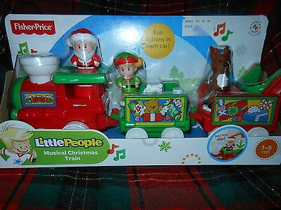 *New* Fisher Price Little People Musical Christmas Train