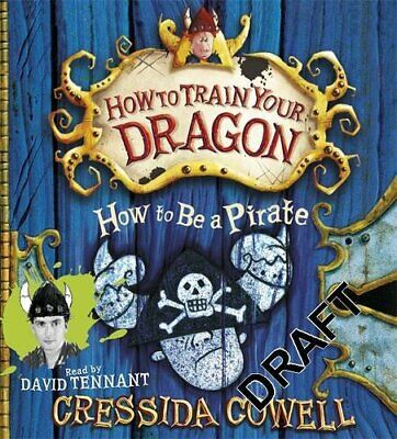 How to be a Pirate by Cressida Cowell CD-Audio Book The Cheap Fast Free Post