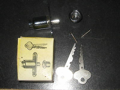 Vintage NEW S. Parker Hardware Sliding Door Lock For Wood Doors