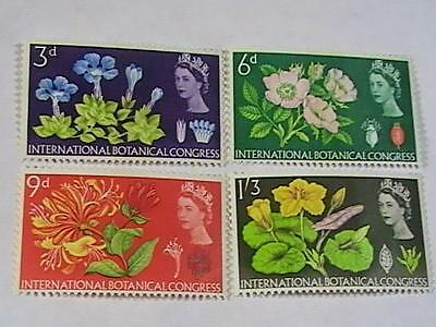 GREAT BRITAIN # 414p-417p----MINT NEVER/HINGED----COMPLETE SET--QEII--1964