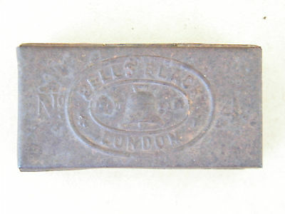 Bell and Black London No. 4 - vintage 1880 tin match box