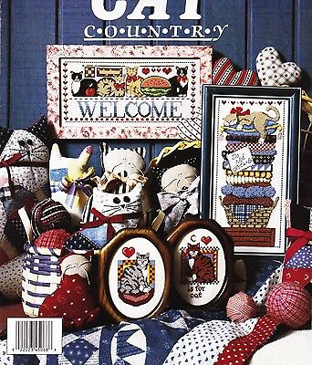 Jeremiah Junction - CAT COUNTRY - 4 designs, OOP, c1991