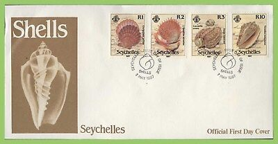 Seychelles 1987 Shells set on First Day Cover