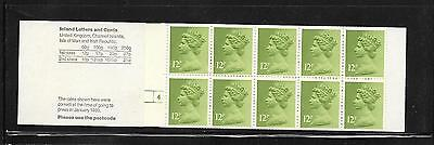Machin  - £1.20 folded booklet - FJ1A + cyl 4 NO DOT - unmounted mint