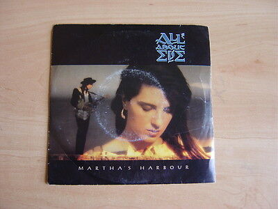 """All About Eve: Martha's Harbour 7"""": 1988 UK Release: Picture Sleeve"""
