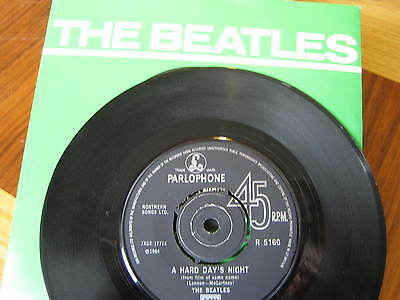 The Beatles - A Hard Day's Night    Vinyl/cover Ex/con