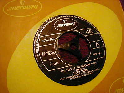 """Faron Young, It's Four In The Morning ,7"""" Vinyl"""