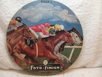 Chad Valley – picture disc record from Foto-Finish horse-racing Game late 1950s