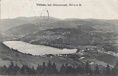 Titisee bad. Scharzwald