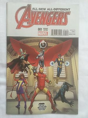 All New All Different Avengers #1 Marvel Comics Local Comic Shop Day Variant