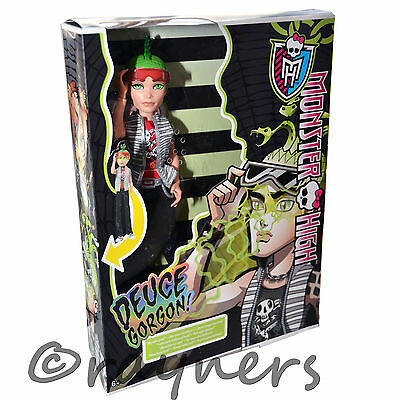 New | Monster High Deuce Duece Gorgon Ghoul's Ghouls Alive Doll | Mattel