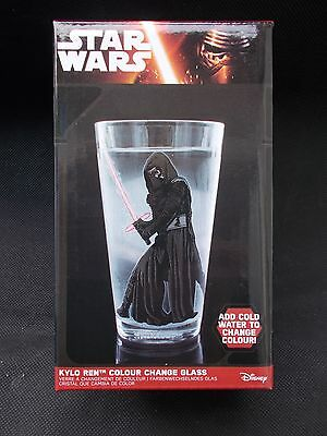 **Star Wars Episode VII The Force Awakens Kylo Ren Colour Change Glass**