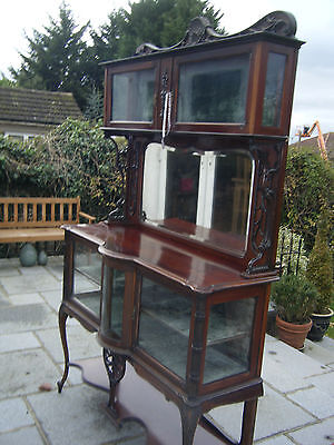Antique Continental Style Display Cabinet L@@@@@@k