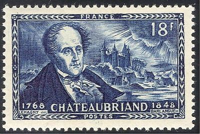 France 1948 Chateaubriand/Writer/Politics/Homoeopathy/Medical/People 1v (n32553)
