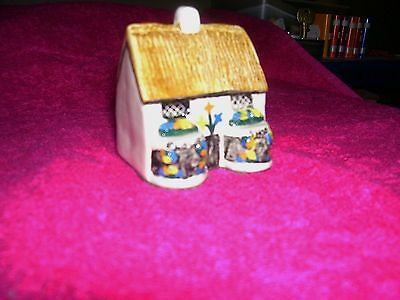 tey pottery miniture No 37 flower shop [countryside collections]