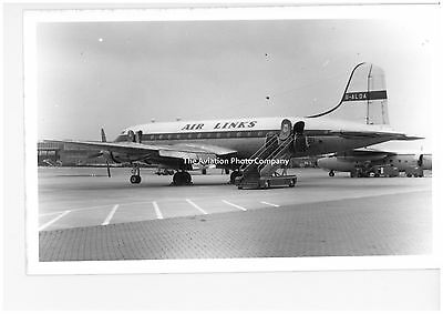 Air Links Handley Page Hermes G-ALDA Vintage Photograph
