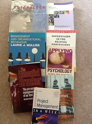 a selection of child Psychology And Management Books