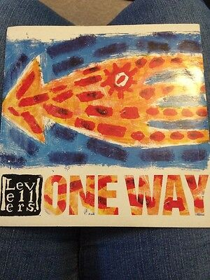 The Levellers One Way 7 Inch Vinyl Single