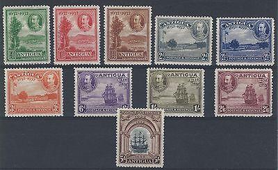 Antigua 1932 Tercentenary SG 81/90 good/fine mounted mint