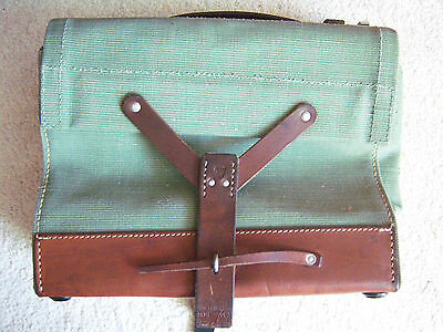 Vintage Swiss Army Military Ammo Bag Bicycle Pannier EXCELLENT LQQK