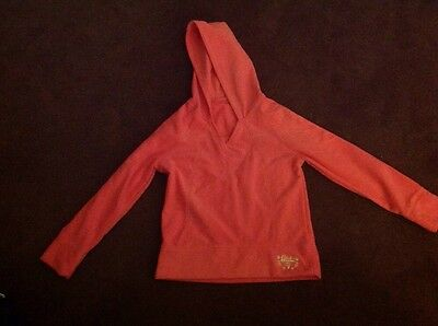 Pink fleece hoodie, Marks and Spencer, aged 11-12 Years.