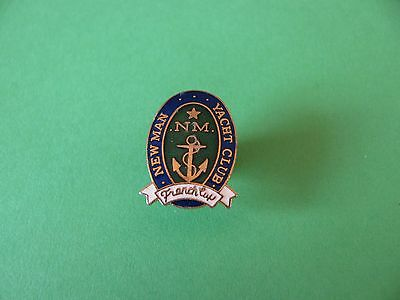 NEW MAN Yacht Club French Cup Pin badge, VGC. Enamel.