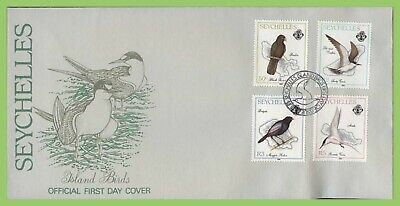 Seychelles 1989 Island Birds set First Day Cover