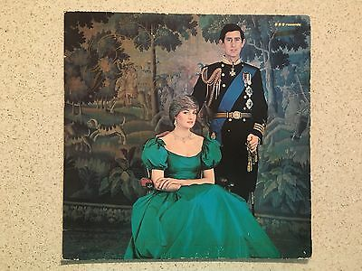 "Princess Diana - The Royal Wedding (1981) - 12"" Vinyl Record"