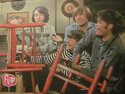 The Monkees, Full Page Vintage Pinup