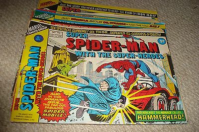 Super Spider-Man - Job Lot - Vintage And Collectable