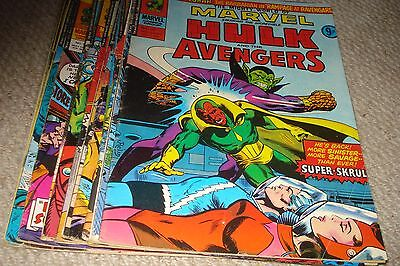 Marvel - The Hulk - Job Lot - Vintage And Collectable