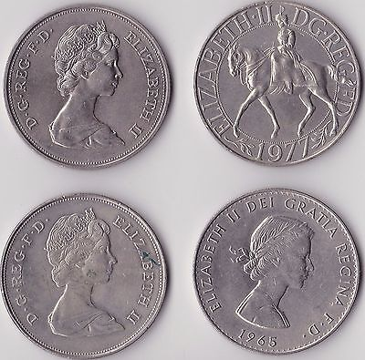 Collection of Crown Sized Commemorative Coins