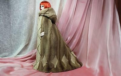 ~OOAK Real Pastel Mink Fur Hooded Cape 4 Evangeline Ghastly Sydney dolls-dimitha