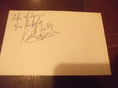 The Spectrum KEITH FORSEY Flashdance Simple MInds songwriter hand signed photo