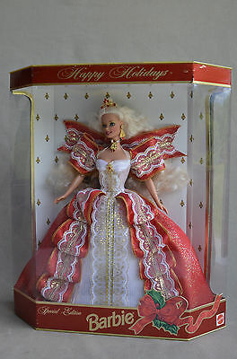 BY Barbie Happy Holiday Holidays Blonde 1997 Mattel 17832