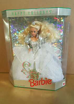BS Barbie Happy Holiday Holidays 1992 Mattel 1429