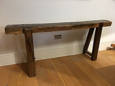 Vintage Wooden Work Bench