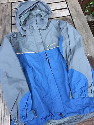 Berghaus Aquafoil Coat Jacket Size 9-10yrs Children's Waterproof Windproof