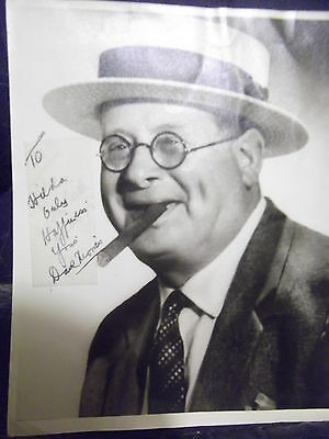 Vintage Music Hall Comedian DAVE MORRIS hand signed photo